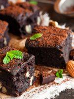 Receta de brownie sin mantequilla