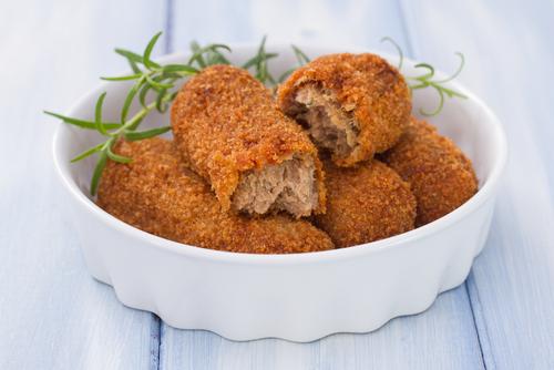 Receta de croquetas de pollo y ternera
