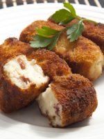 Receta de croquetas de pollo y bacon