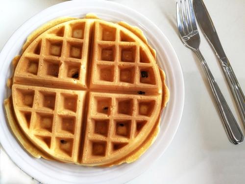 Receta de gofres sin huevo