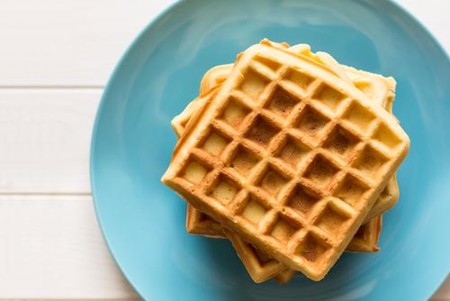 Receta de gofres sin mantequilla