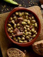 Receta de habas a la catalana con jamón