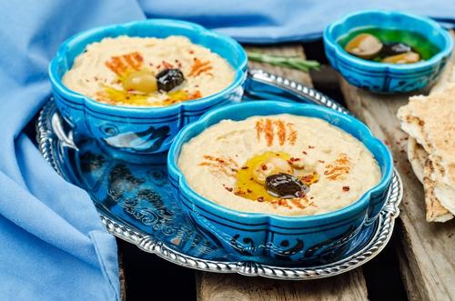 Receta de hummus griego
