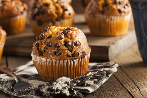 Receta de muffins americanos