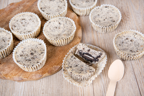 Receta de muffins de oreo