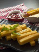 Receta de polenta frita