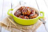 pollo en salsa de ajo