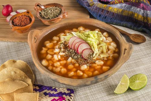 Receta de pozole mexicano