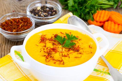 Receta de puré de calabaza con curry