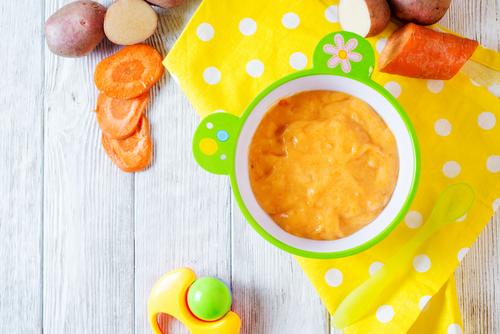 Receta de puré de patatas y zanahoria