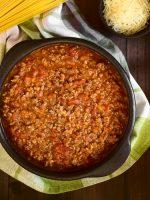 Receta de salsa boloñesa italiana