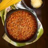 salsa boloñesa italiana