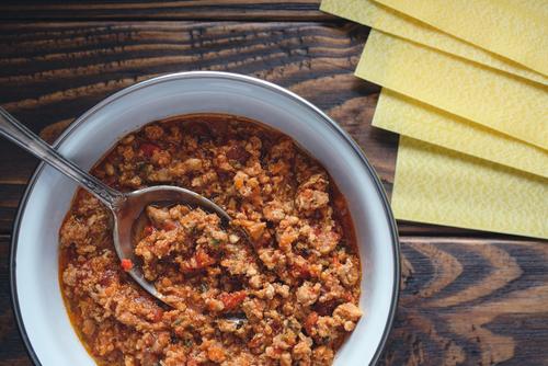 Receta de salsa boloñesa para lasaña