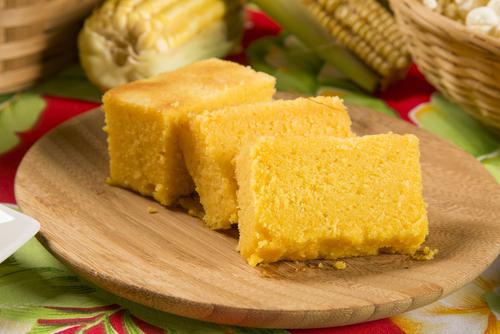 Receta de torta de polenta