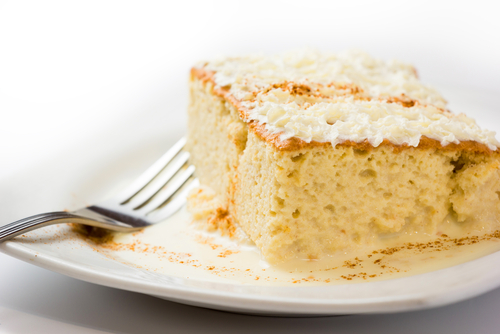 receta torta 3 leches
