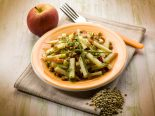 ensalada de lentejas con manzana