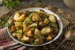 alcachofas al horno con patatas