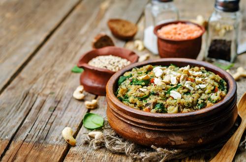 Receta de ensalada de lentejas y quinoa