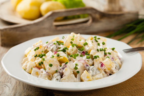 Receta de ensalada de patata thermomix