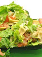 Receta de ensalada de patata y aguacate
