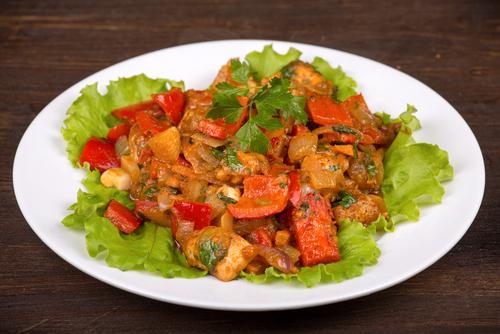 Receta de ensalada de pollo al curry