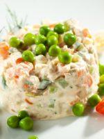 Receta de ensalada de pollo con verduras