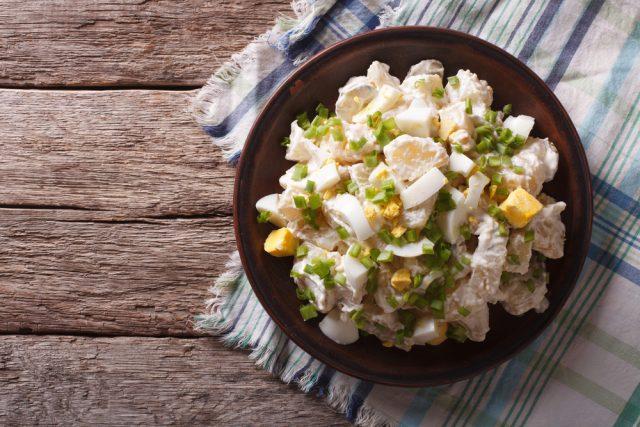 Receta de ensalada de pollo fría
