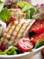 Receta de ensalada de pollo y aguacate