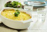 pastel de patata vegetariano