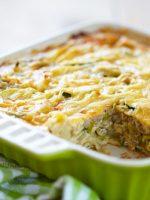 Receta de pastel de patata y calabacín