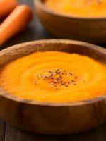Receta de puré de zanahoria y naranja