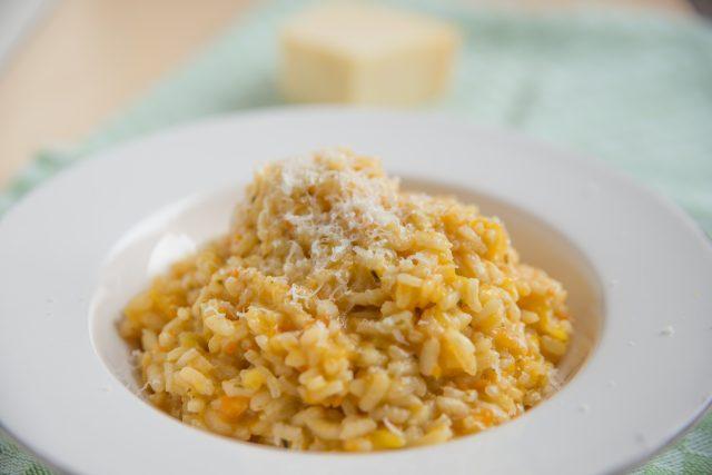 Receta de risotto de boniato