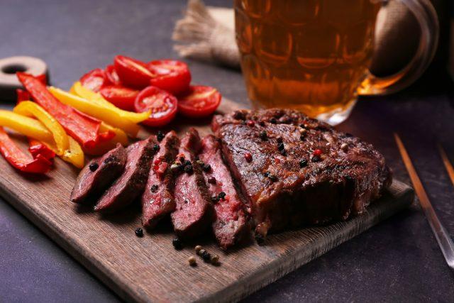Receta de roast beef a la cerveza