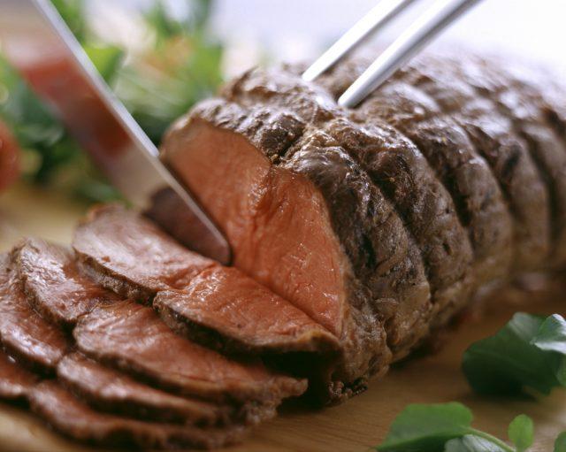 Receta de roast beef al horno