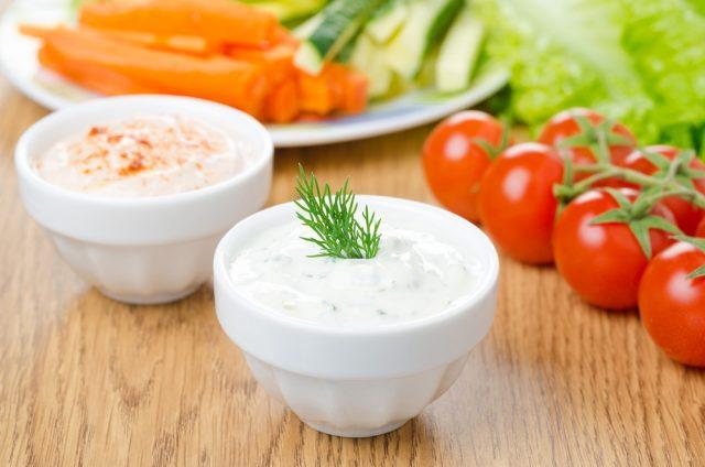 Receta de salsa de yogur light