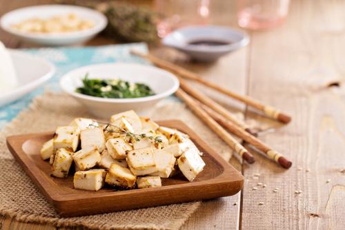 Receta de tofu a la plancha con especias
