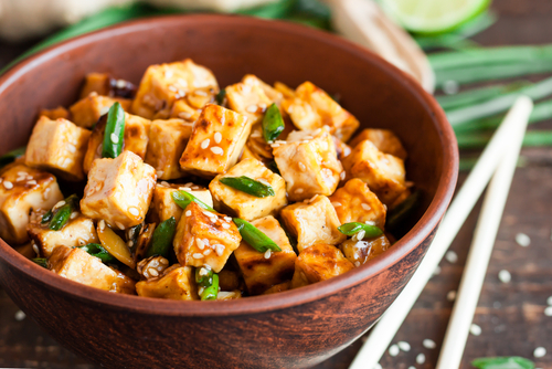 Receta de tofu a la plancha con salsa de soja