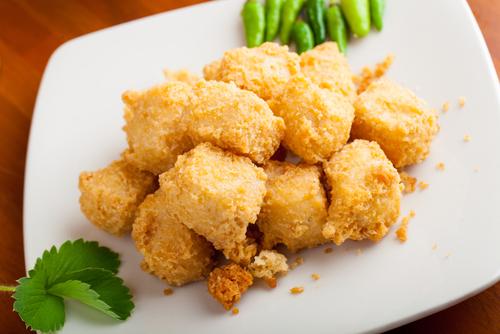 Receta de tofu frito