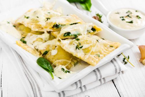 Receta de tortellini de ricotta y espinacas