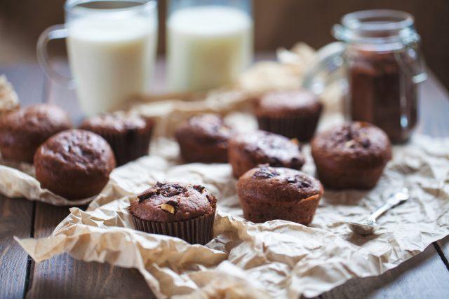 Receta de cupcakes de chocolate sin azúcar