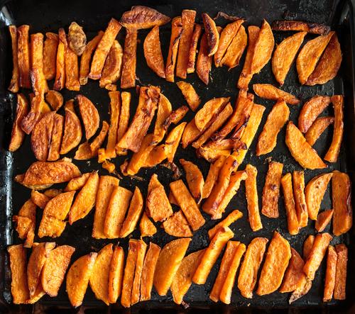 Receta de boniato al horno con especias