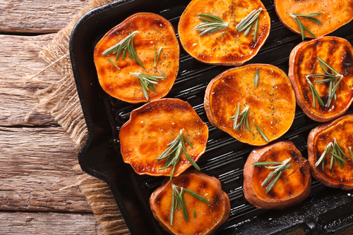 Receta De Boniato Al Horno Con Verduras Unareceta Com