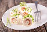 canapés enrollados salados