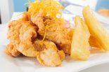 chicharrón de pescado peruano