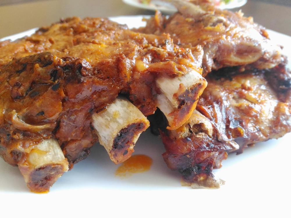 Receta de costillas adobadas con patatas en olla express - Cocinar con olla express ...