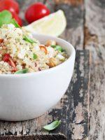 Receta de ensalada de quinoa con atún