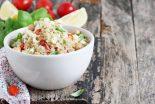 ensalada de quinoa con atun