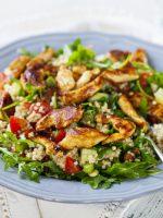 Receta de ensalada de quinoa y pollo