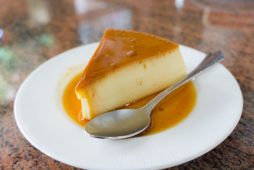 Receta de flan de queso sin azúcar