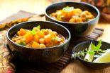 garbanzos estofados con verduras